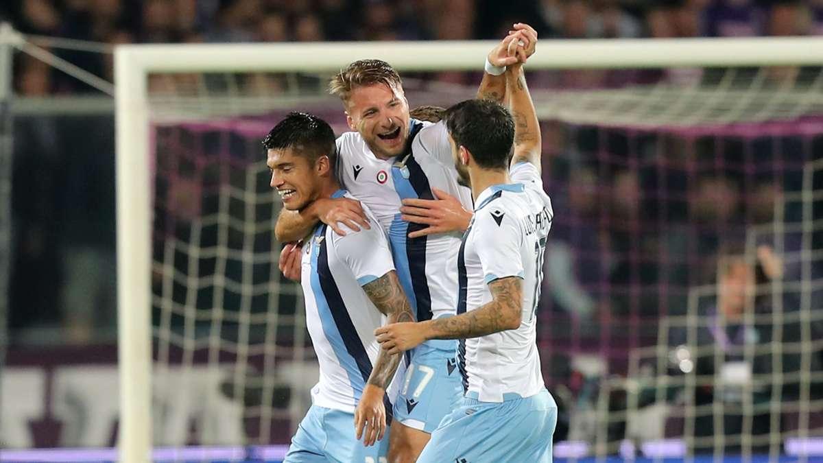 Fiorentina Lazio 1-2 Highlights