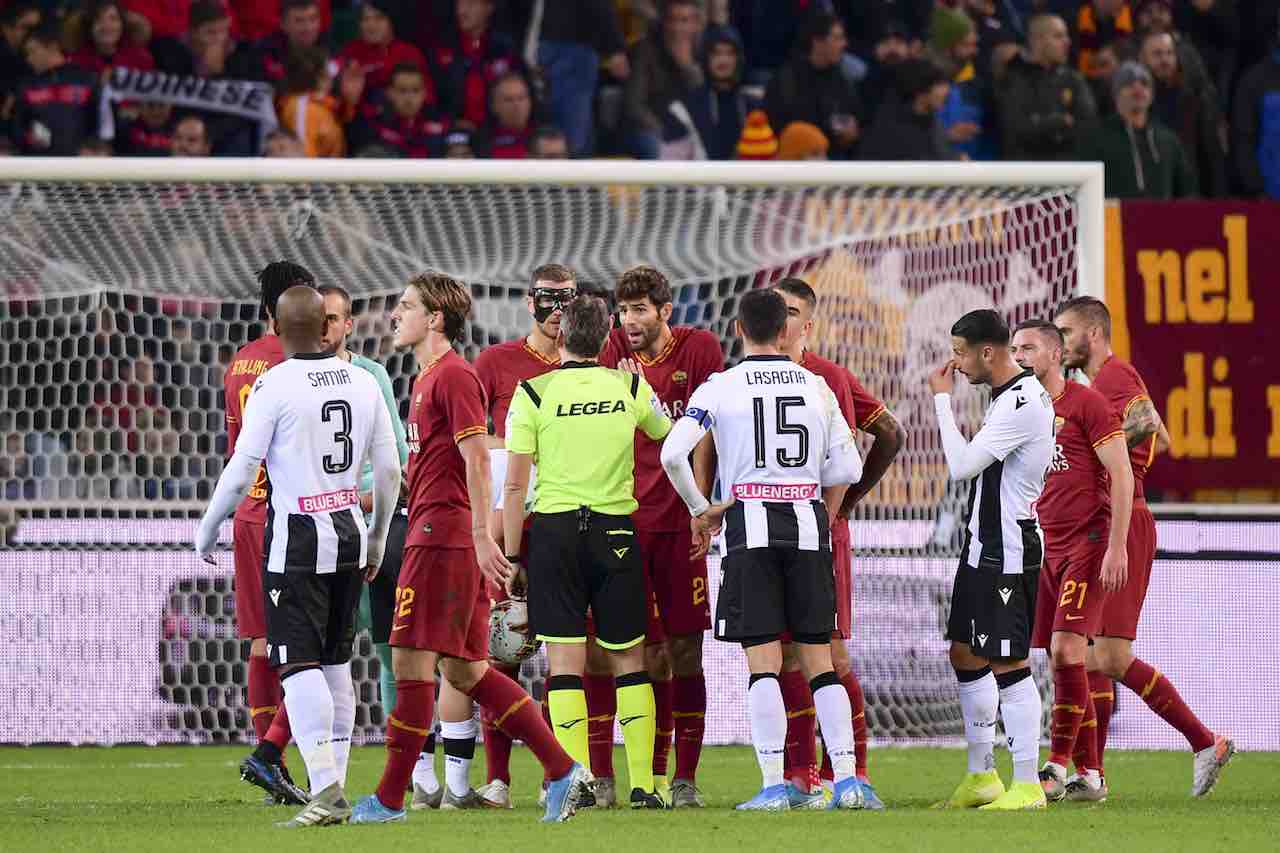 Udinese Roma Highlights