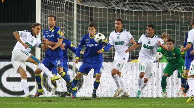 verona-sassuolo 0-1 highlights