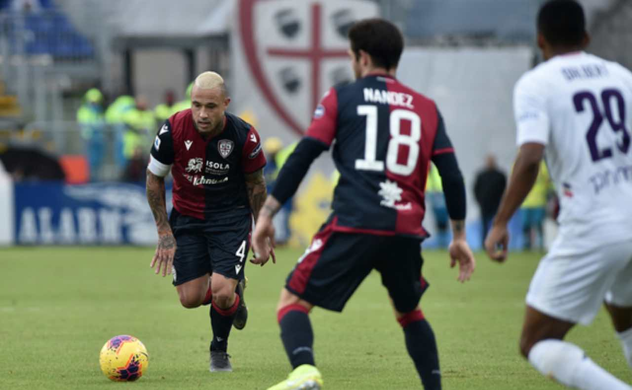 Cagliari Fiorentina 5-2 super Naingolan