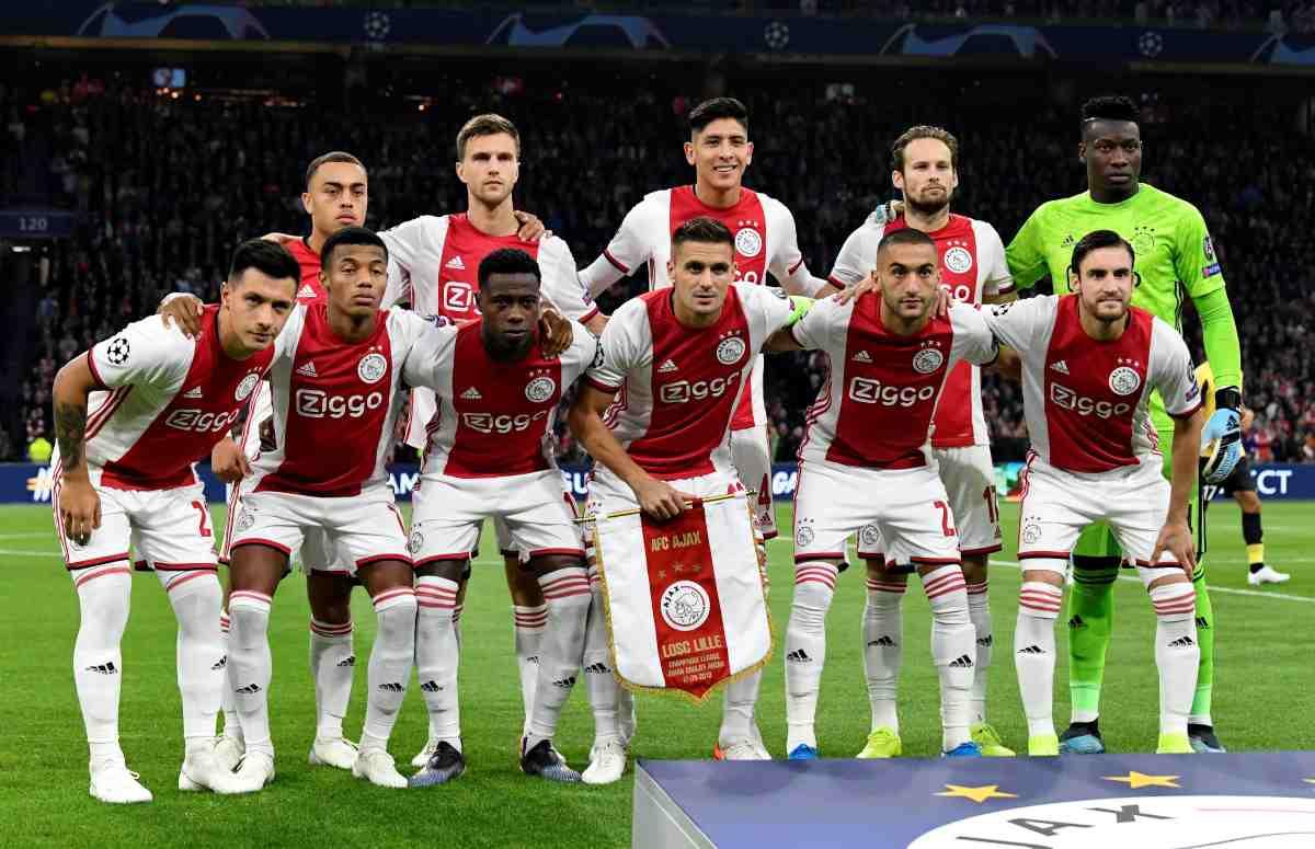 Ajax-Willem II, Eredivise: diretta streaming e tv, probabili formazioni
