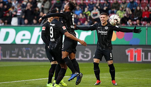 Augsburg-Eintracht Francoforte