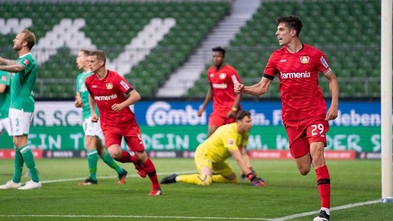 Bayer Leverkusen-Werder Brema