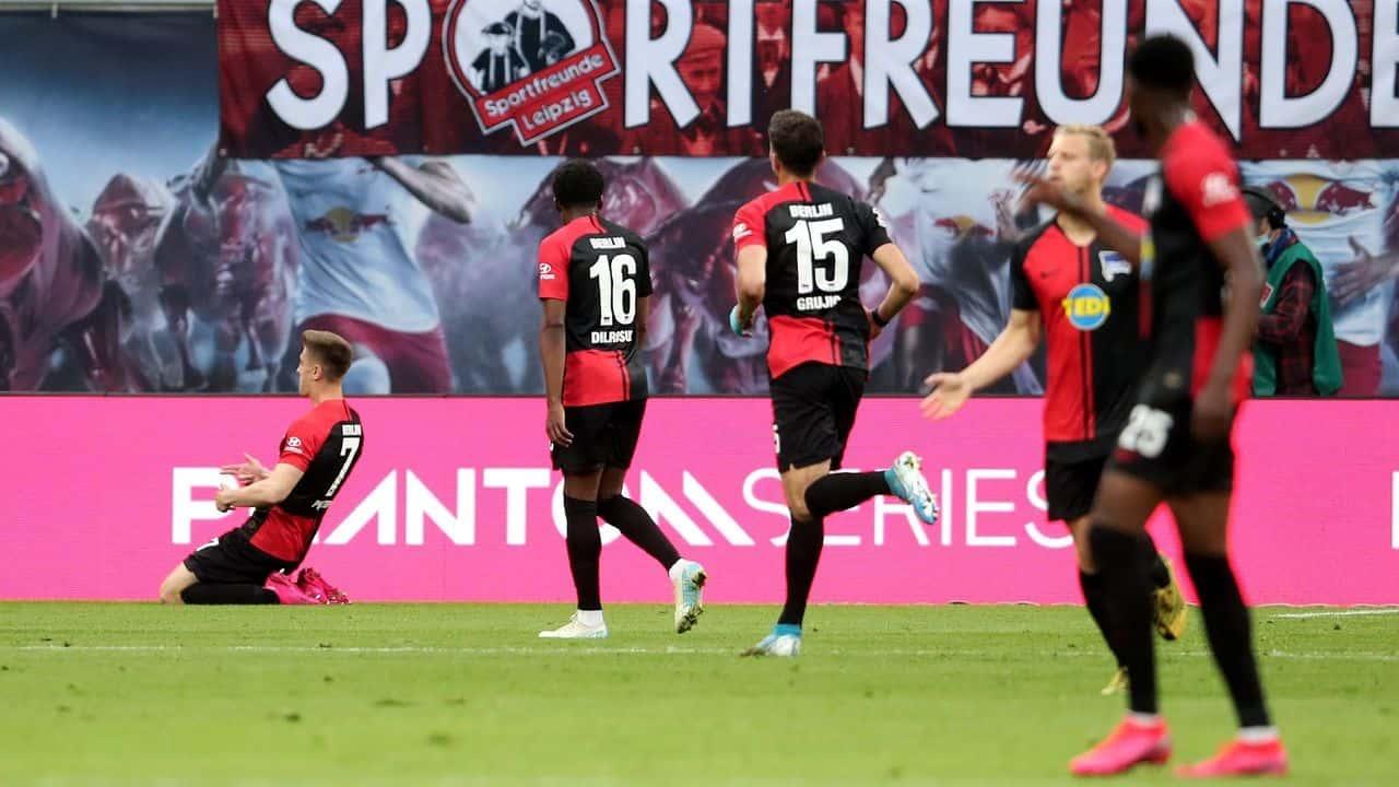Eintracht Francoforte-Hertha Berlino