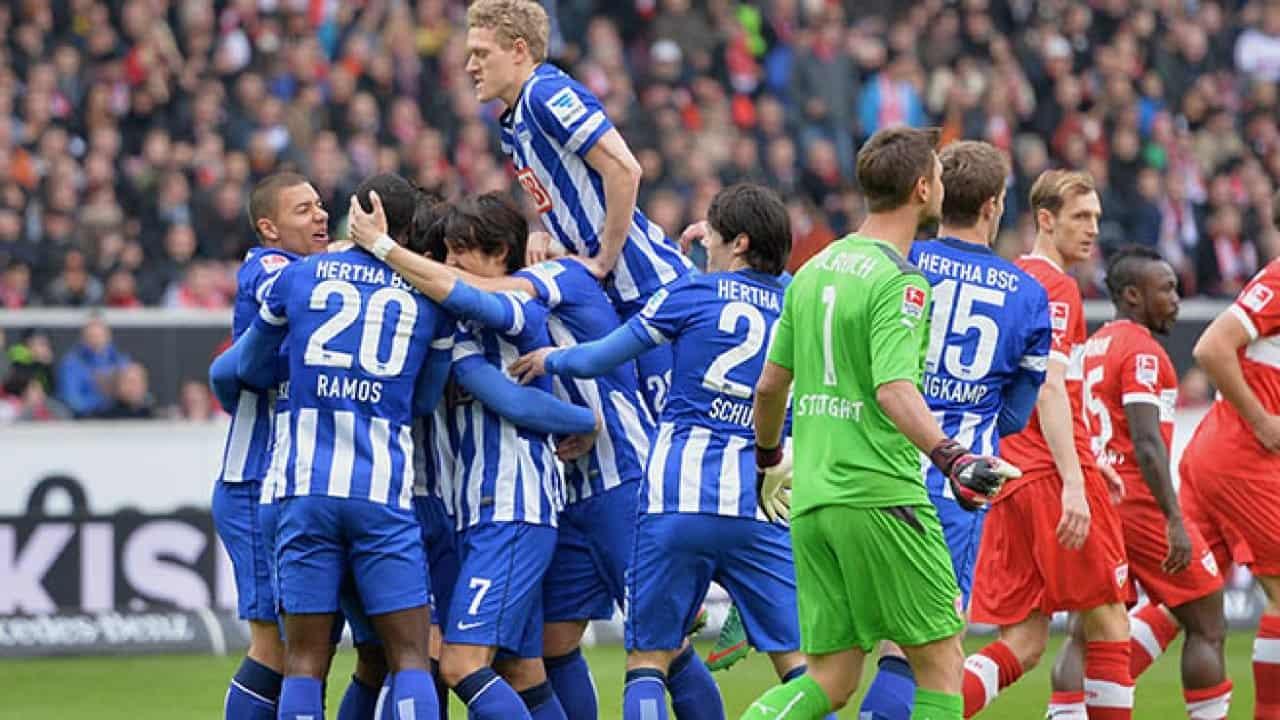 Stoccarda-Hertha Berlino